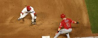 Rangers turn the sort of triple play that has not been done in 106 years