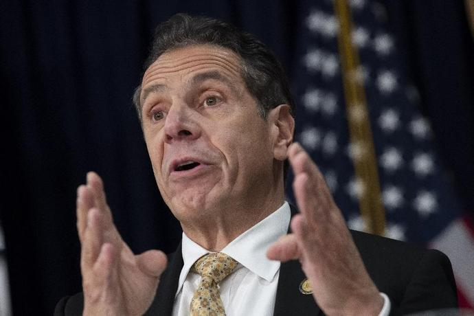 "New York Governor Andrew Cuomo (pictured November 2018) said the law ""brings justice to people who were abused, and rights wrongs that went unacknowledged and unpunished for too long"""