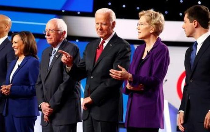 Big tech, Twitter bans and Bing: U.S. Democrats spar over Silicon Valley on debate stage