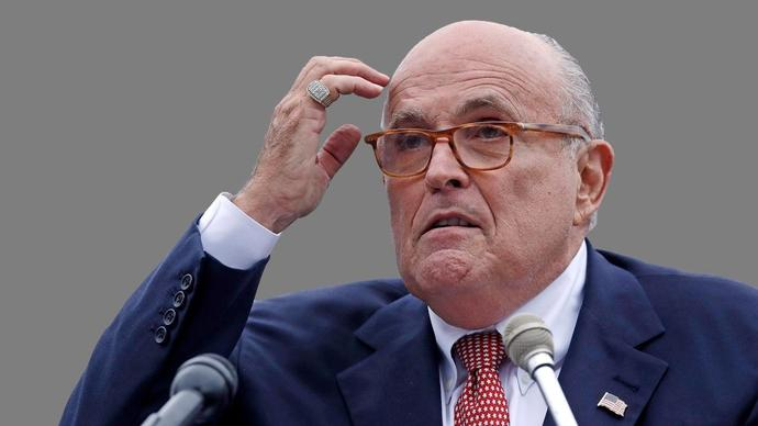 Rudolph Giuliani, former New York City Mayor