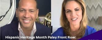 Hispanic Heritage Month: Alex Rodriguez in Conversation at Paley Front Row 2020
