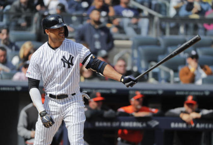Yankees slugger Stanton homers twice in Class A rehab game