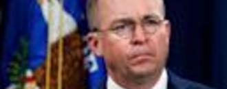 Mick Mulvaney acknowledges Ukraine aid was withheld over investigation into Democrats