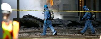 Steam pipe blasts show dangers lurking under New York streets