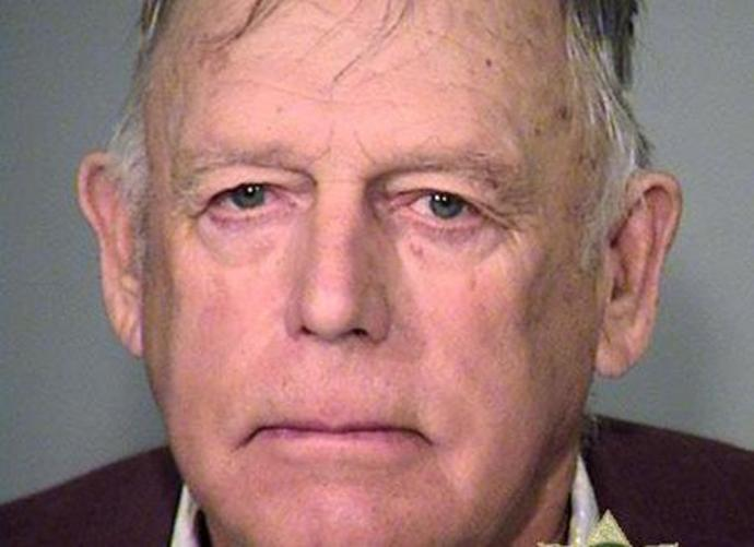 FILE PHOTO: Cliven Bundy is pictured in this undated booking handout image provided by the Multnomah County Sheriff