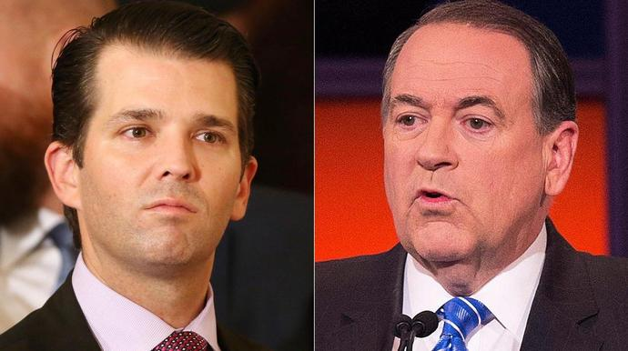Donald Trump Jr. Gets Blasted For His Al Franken Hot Take. Mike Huckabee Too.