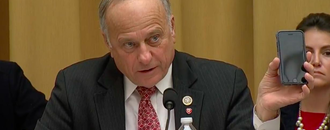 Democrats erupt into laughter after Google CEO has to explain to Rep. Steve King that the