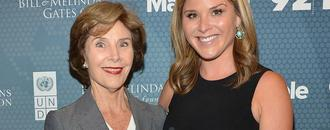 Jenna Bush Hager's mom Laura Bush has beautiful response to pregnancy guilt and infertility
