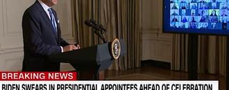 Biden tells new White House hires he