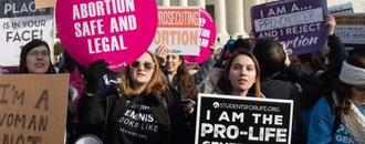 Christian rightwingers warn abortion fight could spark US civil war
