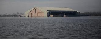 Flooded U.S. Air Force base underscores climate risk to security: experts