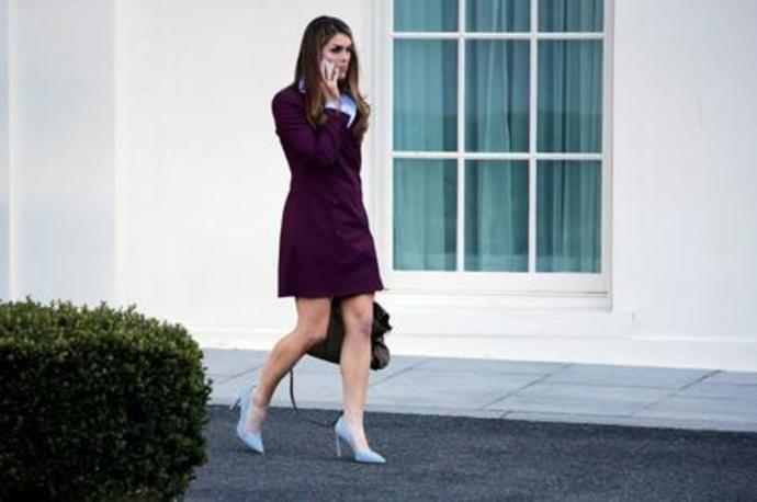 Ex-Trump aide Hicks agrees to give campaign documents to Congress