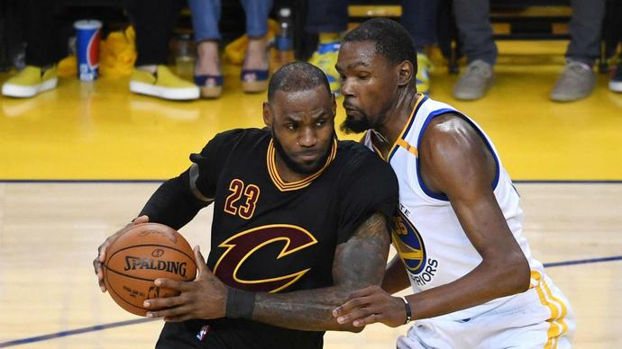 NBA admits refs missed Kevin Durant's late fouls on LeBron James