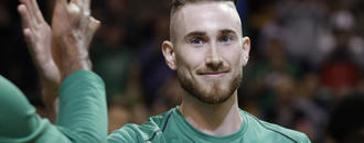 Watch: Gordon Hayward dunks over defender