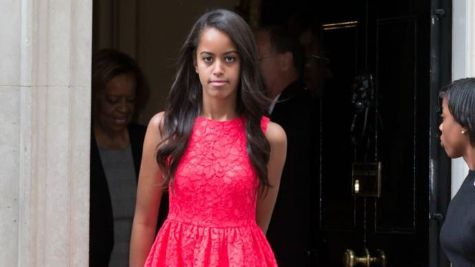 Malia Obama Discovers That Life Outside the White House Isn't So Private