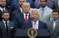 'It's very sad': Trump on Patriots owner Robert Kraft's soliciting prostitution charges