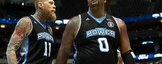 "Baron Davis vs. Glen ""Big Baby"" Davis in the Big3 championship showdown next Friday"