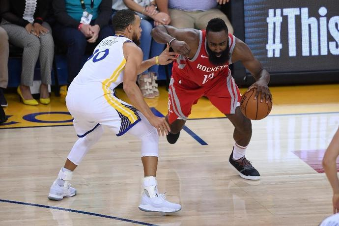 Harden scored 32 points and handed out nine assists but also coughed up nine turnovers as the Rockets surrendered an early 17-point lead and fell 109-99 in Oakland