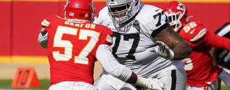 Trent Brown returns to Raiders