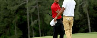 Tiger Woods was NOT interested in talking to Tony Finau on Sunday at the Masters, according to Tony Finau