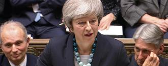 UK leader May fights leadership revolt, warns Brexit in peril
