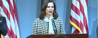 Michigan Gov. Gretchen Whitmer says husband