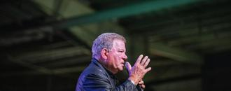 William Shatner beams in with hit TV show at 88