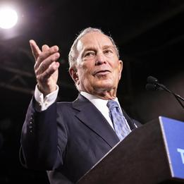 Bloomberg qualifies for his first Democratic debate
