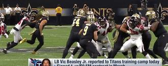 Garafolo: Vic Beasley will be fined $500,000 for late camp arrival