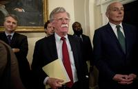 Kelly, Bolton Get in Profane Shouting Match Outside the Oval Office