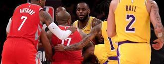 Fight in LeBron