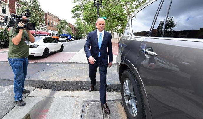 Lawyer Michael Avenatti faces up to 22 years in prison for allegedly embezzling money from his celebrity client Stormy Daniels