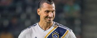 Ibrahimovic scores twice, 10-man Galaxy ties Sounders 2-2