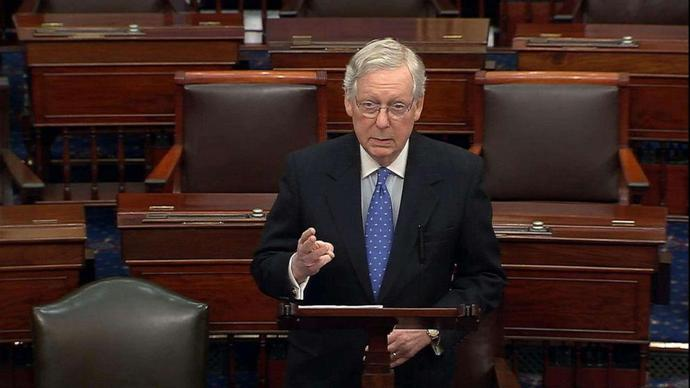 McConnell calls out Democrats, says they\
