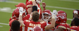 Chiefs players react to Harrison Butker
