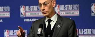 Adam Silver reportedly tells President Trump he hopes NBA can lead way back