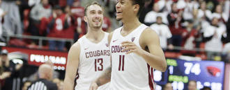 WSU wins on day it retires Klay Thompson