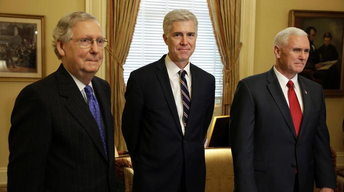 Mitch McConnell Reaps The Benefits Of His Stolen Supreme Court Seat