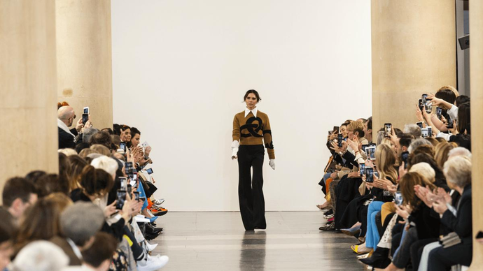 b83d955863f5 Victoria Beckham s Fall 2019 Collection Is Here to Fill the Old Céline Void  in Your Heart