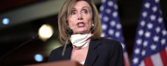 Pelosi says increased military in Washington is