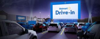 Walmart to turn 160 parking lots into drive-in movie theaters in August