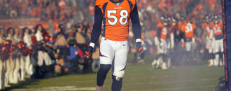 Von Miller offers a pass rusher