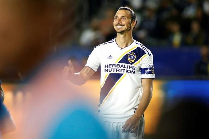 Over and out: Zlatan Ibrahimovic has confirmed his departure from Los Angeles Galaxy
