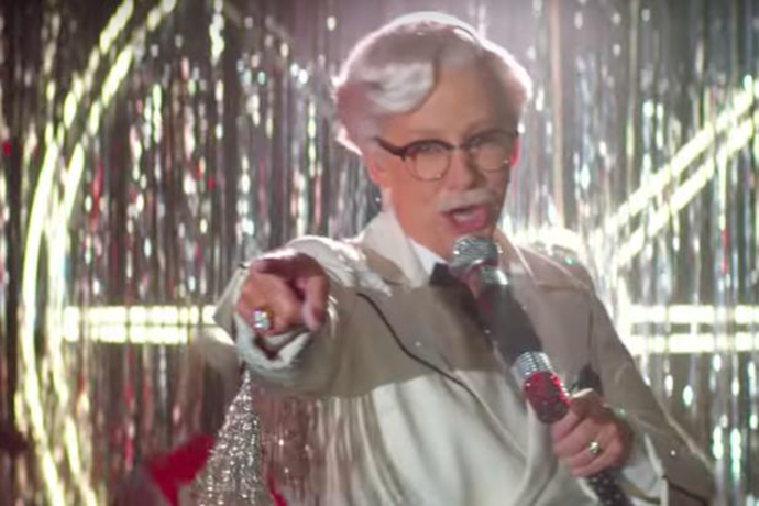 48e7b98be8d9e Reba McEntire Breaks  Fried Ceiling  as First Female Colonel Sanders in KFC  Ad