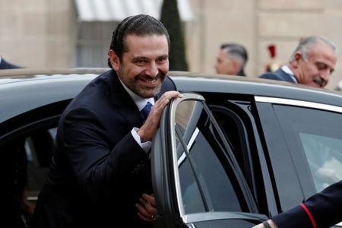 Saad al-Hariri, who announced his resignation as Lebanon