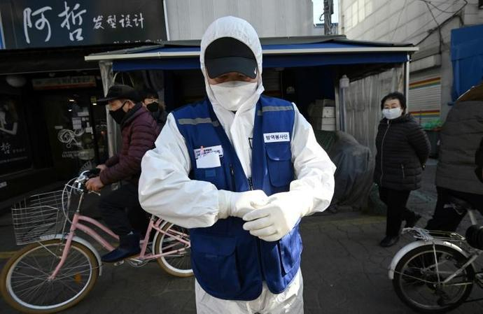 South Korea has been hit hard by the economic fallout from the coronavirus outbreak in neighbouring China