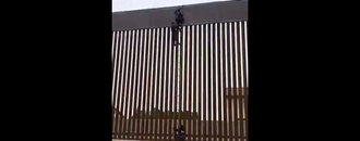 Viral video shows border wall being scaled at Mexicali. Border Patrol says system