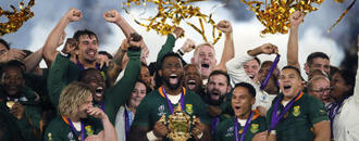 The Latest: No return yet for world champion Springboks