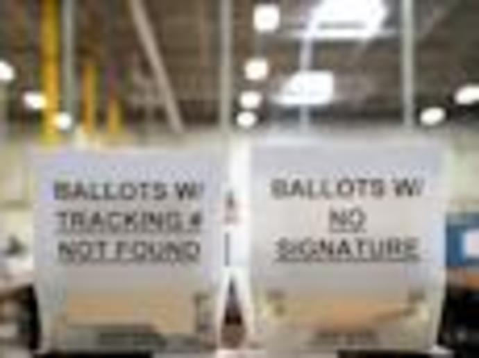 A Kentucky postal worker who trashed over 100 absentee ballots was fired and could face federal charges