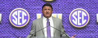 LSU, Orgeron, take fortress mentality into uncertain 2018
